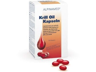 Krill Oil Kapseln 120 Stk., Ph.C. 4832737, Alpinamed AG