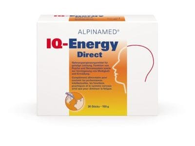 IQ-Energy Granulat 30 Sticks, Ph. C. 3098152, Alpinmed AG